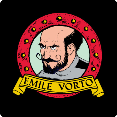 Vorto the Pirate Character Tee (Emile)
